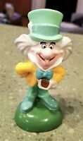 Disney NE THE MAD HATTER Porcelain PEPPER SHAKER (only) w/Stopper GUC Vtg