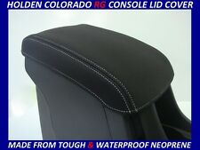 HOLDEN RG & RG7 COLORADO  NEOPRENE  CONSOLE LID COVER (WETSUIT MATERIAL)