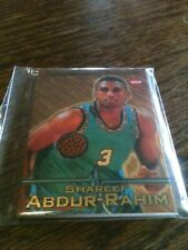 1996-97 Collector's Edge Shareef Abdur-Rahim Rookie Authentic Game Used Ball WOW