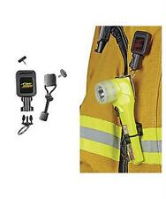 Scuba Diving Gear Keeper Fire Fighter Right-Angle Flashlight Retractor SM