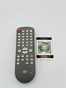 Magnavox NB062 DVD Remote Control Gray Sanitized Factory Original Genuine