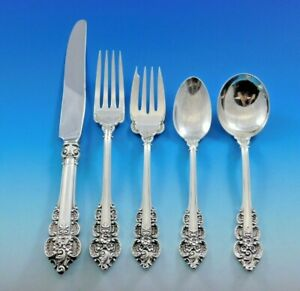 Troubadour By Frank Whiting Sterling Silver Salad Serving Set HHWS 2pc Custom