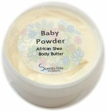 Baby Powder Whipped Shea Butter 280ml & FREE 50ml Travel Size Tin
