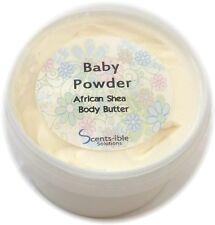 Baby Powder Whipped Shea Butter 280ml & 50ml Travel Size Tin