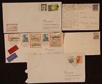 9L** Lot x5 enveloppes/pli postaux/cartes ALLEMAGNE