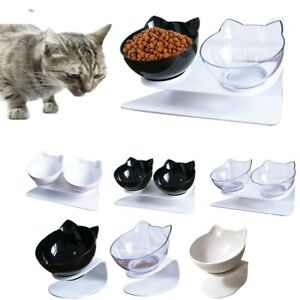 1Pc Pet Raised Bowl Dog Food Feeder Cat Puppy Drinking Dish Pet Feeding Supplies