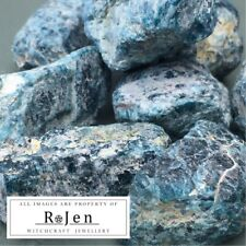 Raw Unpolished Medium Neon Apatite Chunks Stone SELF-EXPRESSION Wicca chakra