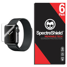 6pack Spectre Military-grade for Apple Watch Series 3 42mm Screen Protector HD