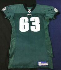 Philadelphia Eagles Hank Fraley #63 Football-NFL Reebok Jersey Size50