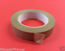 SET OF TWO Brown picture frame tape Art 25mm x 50m