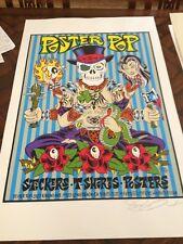 1999 Alan Forbes POSTER POP silkscreen art POSTER s/n