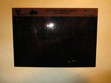 2000 Yamaha ATV YFM600FWAM MC Grizzly Microfiche Parts Catalog YFM 600 FWAM