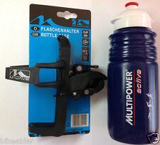 QR 360deg Bike Bottle Cage + Bottle Mount Anywhere Bar Frame Multi Position MTB