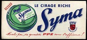 BUVARD   le cirage SYMA   ( 88 )