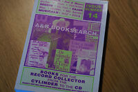 Rare Books for the Record Collector Issue No 14 Clean Original Order Paperback