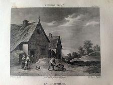 IL COTTAGE Teniers Le Jeune - Galerie du musée Napoléon J. Lavallée 1804-1815