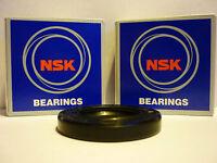 HONDA CB900 HORNET 02-07 OEM SPEC NSK REAR WHEEL BEARINGS & DISC SEAL