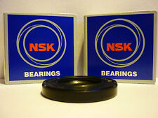 KAWASAKI ZZR600 D1-D3 90-92 OEM SPEC NSK REAR WHEEL BEARINGS & DISC SEAL