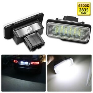 LED Kennzeichenbeleuchtung für Mercedes Benz C E CLS SLK Class W203 W219 W211