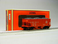 LIONEL PRR COAL GLA HOPPER CAR #166658 6-84953 O GAUGE train freight 6-84955 NEW