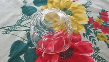 Vintage Depression Glass Jelly Mould