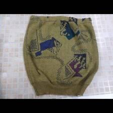 Women Sweater Jumper Knitted Vtg Bodycon Skirt Size 2 UK 10 Multi Grade A LB1156