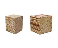 Hocker Holz Sitzhocker Teakholz Bad Badezimmer Für Handtücher Kissen Badhocker