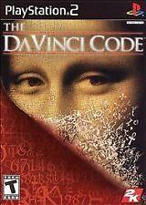 Da Vinci Code PS2 Playstation 2 Game