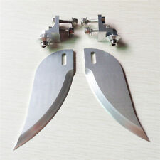 CNC Aluminum alloy turn fins set 90mm*30mm applicable above 1.3m rc boat  -208