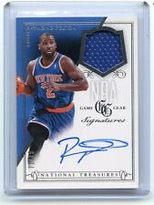 2013-14 NATIONAL TREASURES #GS-RF RAYMOND FELTON AUTOGRAPH JERSEY #71/75, KNICKS