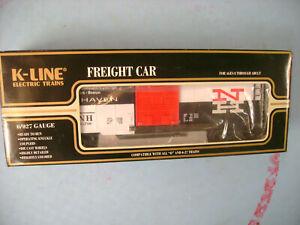 K-LINE O/027 SCALE K641-9818 NETCA SPECIAL TCA CONVENTION NEW HAVEN BOX CAR NEW