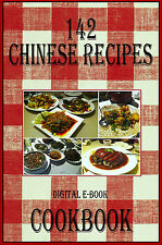 142 Delicious Chinese Recipes E-Book Cookbook CD-ROM
