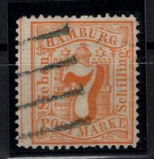 T4244/ GERMANY – HAMBURG – MI # 17 USED SIGNED JAKUBEK BPP – CV 175 $