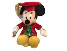 New Disney Graduation Minnie Mouse 9'' Bean Bag Plush