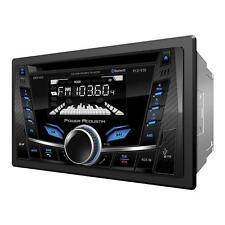 New Power Acoustik Double Din PCD-52B CD/WMA/MP3 Digital Media Player Bluetooth