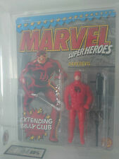Extremely Rare! 1990 Toybiz Marvel Super Heroes - Daredevil UKG 80 MOC