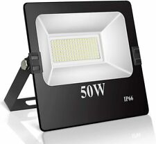 Roleadro Focos Led Exterior 50W IP66 Impermeable 144 SMD3030 LED Floodlight con