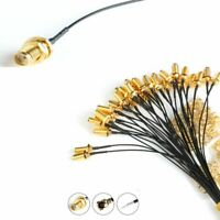 Assembly Extension RP-SMA To UFL IPX Coax Adapter Pigtail Cable Connector Chic