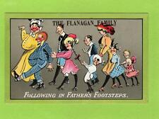 The Flanagan Family Following in Father's Footsteps pc used 1910