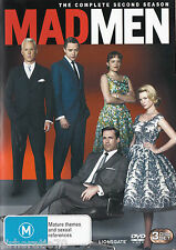 MAD MEN Complete Second Season 2 DVD R4