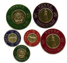 Tonga Mint #C1-6 Airmail Coins 1963  A508