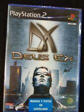 Deus Ex videojuego para play 2 nuevo y precintado