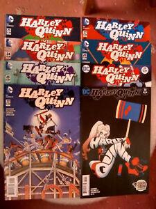 HARLEY QUINN ISSUES #22 23 24 25 27 28 29 30 DC COMICS 2016 VF/N-MINT 1st PRINTS