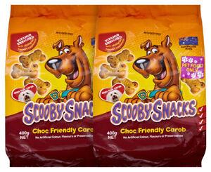 2 x Scooby Snacks Choc Friendly Carob 400g - FREE SHIPPING