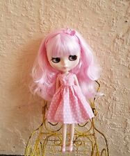Factory Type Neo Blythe Doll Pink Hair - With Outfit OR Stand