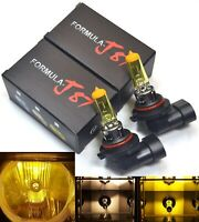 Halogen 9006 HB4 55W 3000K Yellow Two Bulbs Head Light Stock Plug Play Replace