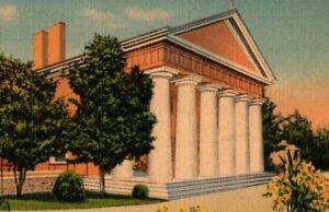 1940 Vintage Postcard Custis Lee Mansion, Arlington, Virgina  A30
