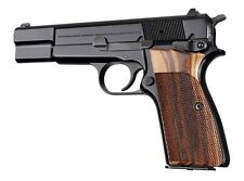Hogue Grip For Browning Hi-Power - Goncalo Checkered 09211