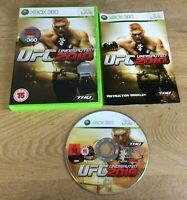 UFC Undisputed 2010 Xbox 360 UK PAL **FREE UK POSTAGE**