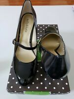 Kelly & Katie Caris Women's Mary Jane Black Patent Leather Shoes Size US 8 M